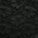 Jacquard Lace Fabric Black