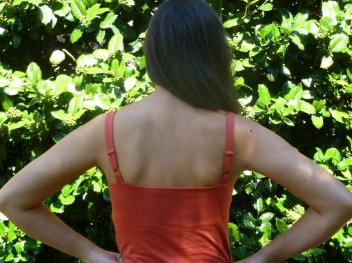 Pleated Cami - Back