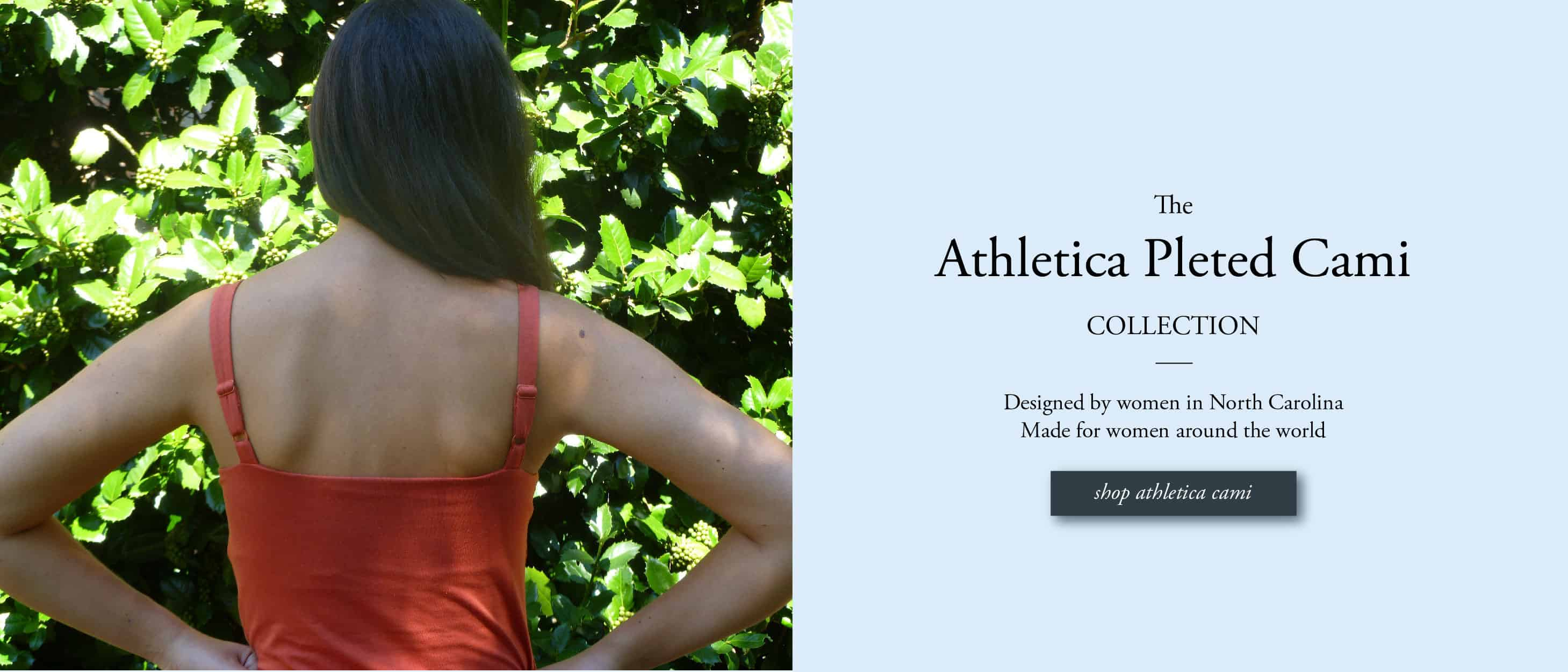 The Athletica pleted cami post breast cancer surgery tank top